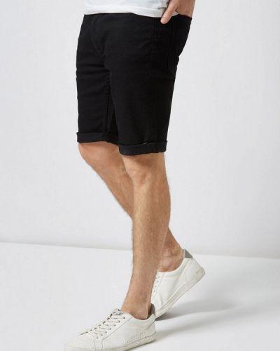 Джинсовые шорты черные Burton Menswear London