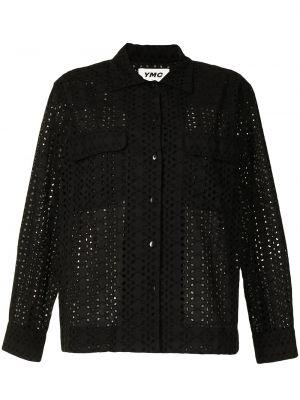 Czarna koszula bawełniana Ymc