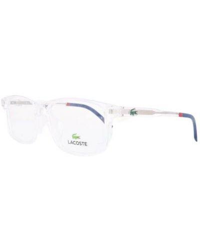 Białe okulary Lacoste