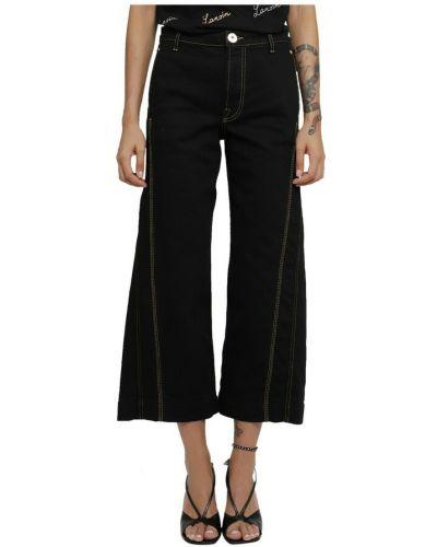 Czarne mom jeans Lanvin
