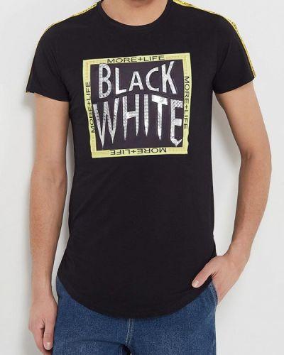 Черная футболка Terance Kole