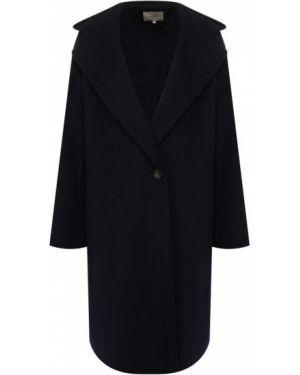 Пальто с капюшоном шерстяное пальто Vince.