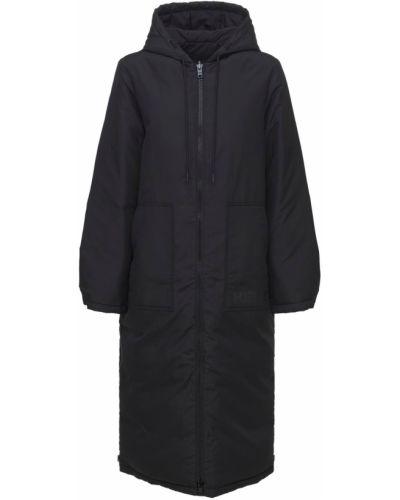 Куртка с капюшоном - черная Kenzo