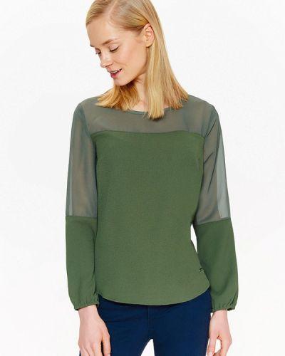Зеленая блузка Top Secret