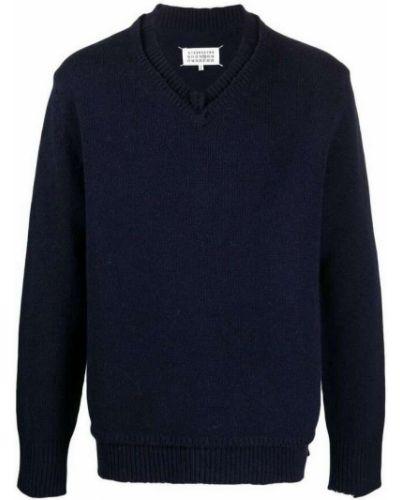 Niebieski sweter Maison Margiela