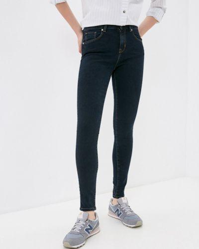 Синие джинсы-скинни узкого кроя Colin's