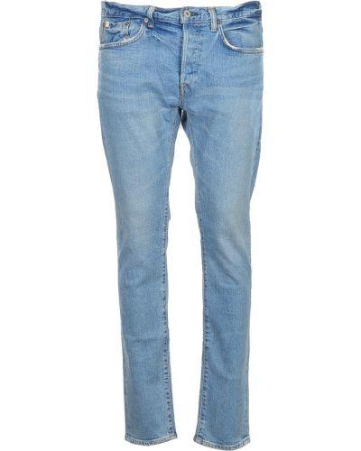 Niebieskie mom jeans Edwin