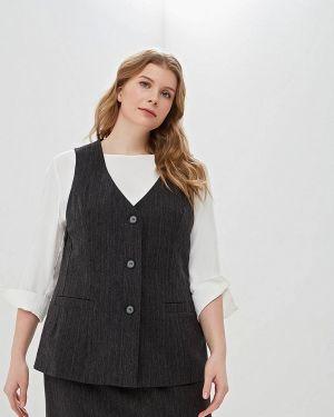 Жилетка - серая авантюра Plus Size Fashion