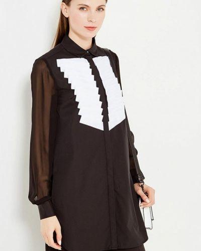 Туника с длинными рукавами с рукавами туника-блуза Karl Lagerfeld