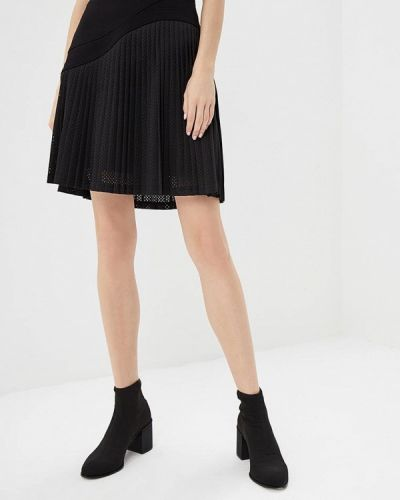 Черная юбка широкая Karl Lagerfeld