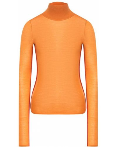 Оранжевая водолазка шерстяная Joseph