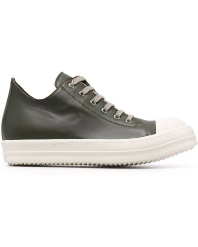 Zielone sneakersy Rick Owens