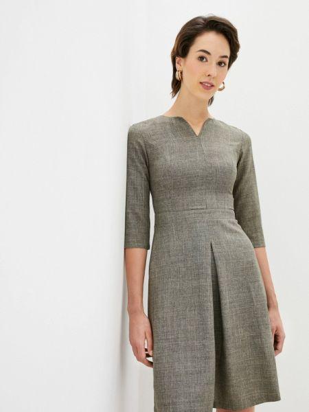 Бежевое повседневное платье Maurini