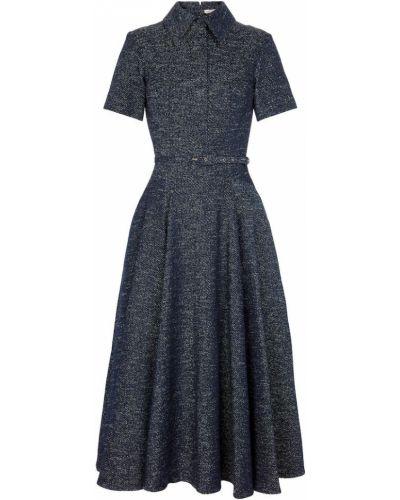 Синее джинсовое платье Emilia Wickstead