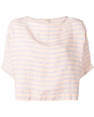 Блузка с короткими рукавами - розовая Bellerose