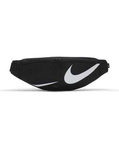Черная сумка с поясом Nike