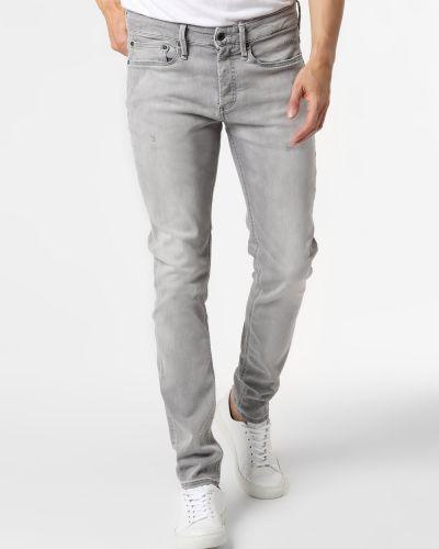 Szare mom jeans Denham
