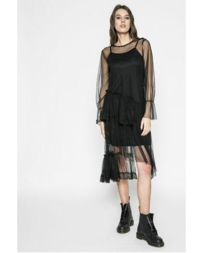 Черное платье миди Liu Jo