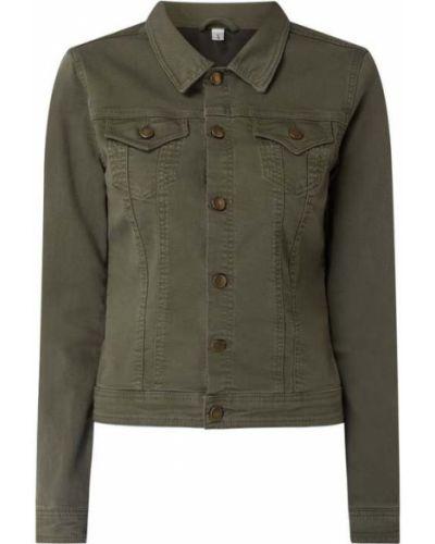 Zielona kurtka jeansowa Soyaconcept