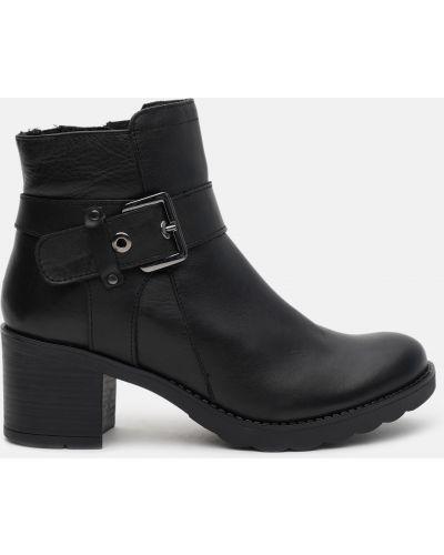 Ботильоны на каблуке - черные Lasocki