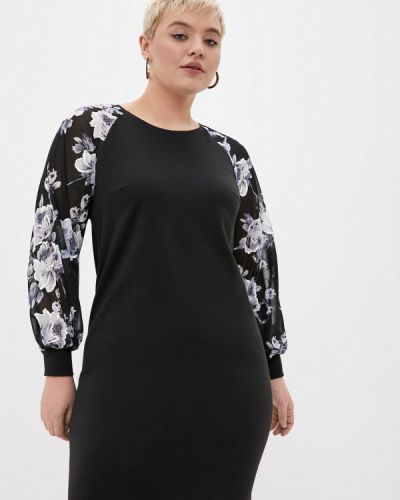 Повседневное черное платье Malena