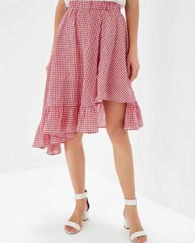 Красная юбка Brigitte Bardot
