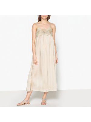 Летнее платье на бретелях прямое Laurence Bras