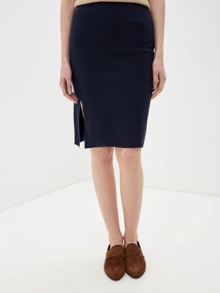 Синяя юбка узкого кроя Rodier
