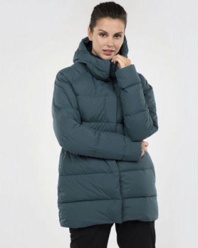 Куртка с капюшоном спортивная длинная Mountain Hardwear