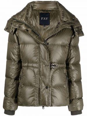 Дутая куртка - зеленая Fay