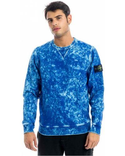 Bluza dresowa - niebieska Stone Island