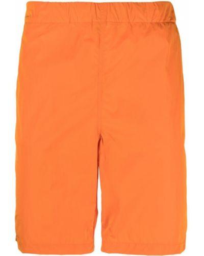 Оранжевые пляжные плавки-боксеры с карманами Hevo