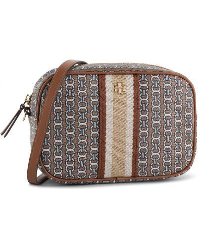 Skórzana torebka torba na torbę mini Tory Burch