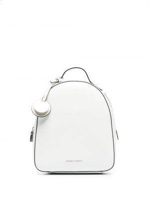 Biały plecak Emporio Armani