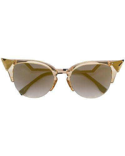 Солнцезащитные очки кошачий глаз с логотипом Fendi Eyewear