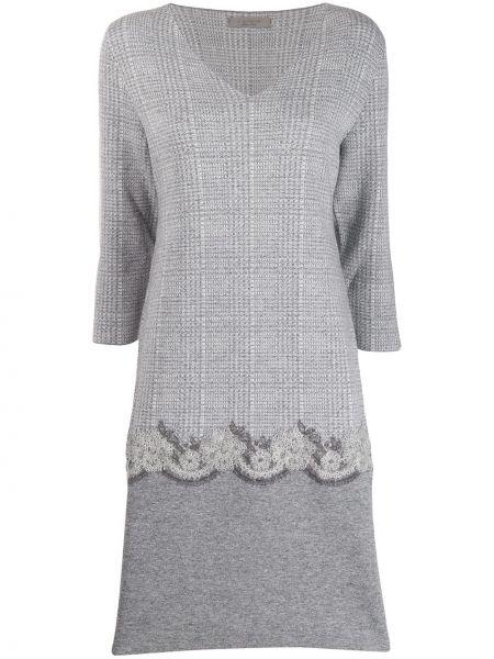 Платье с вышивкой на молнии D.exterior