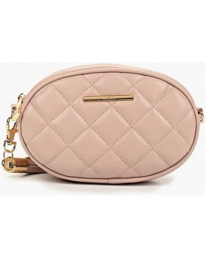 Поясная сумка кожаный розовый Aldo