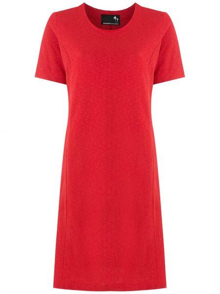 Платье мини короткое - красное Osklen