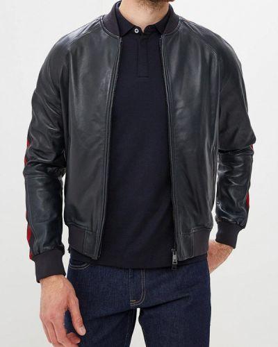Куртка осенняя кожаная Emporio Armani