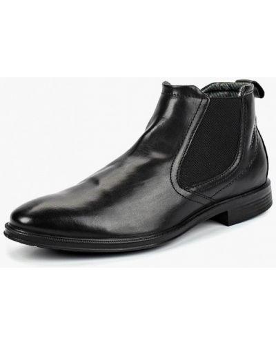 Ботинки челси осенние кожаные Bugatti