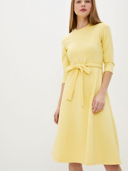Желтое платье Lorani