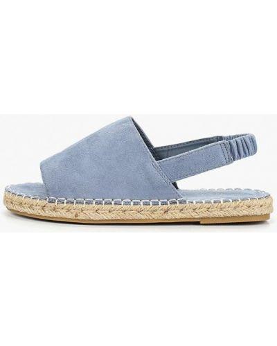 Голубые сандалии замшевые Catisa