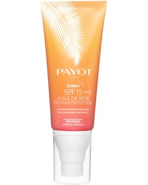 Масло для загара тела кожаный Payot