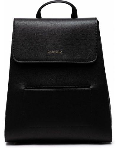 Czarny portfel skórzany Carvela