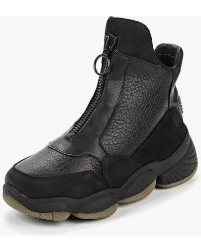 Высокие кроссовки из нубука Bronx