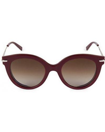 Черные солнцезащитные очки металлические очищающие Max Mara