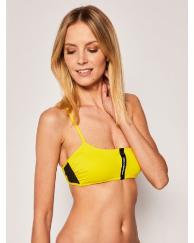 Żółty bikini Karl Lagerfeld