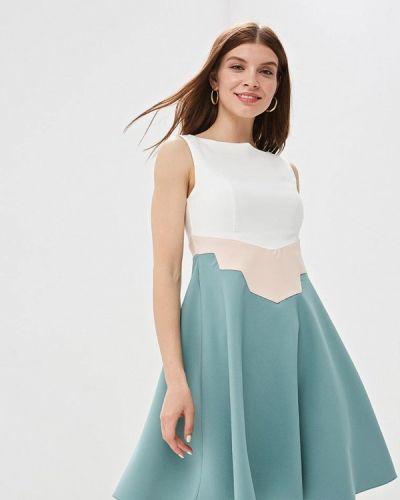 Разноцветное платье Jimmy Sanders