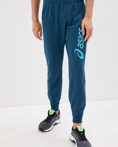 Бирюзовые спортивные брюки Asics