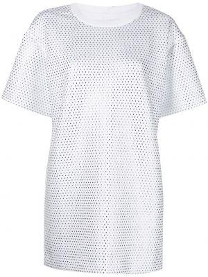 Платье мини короткое - белое Cynthia Rowley